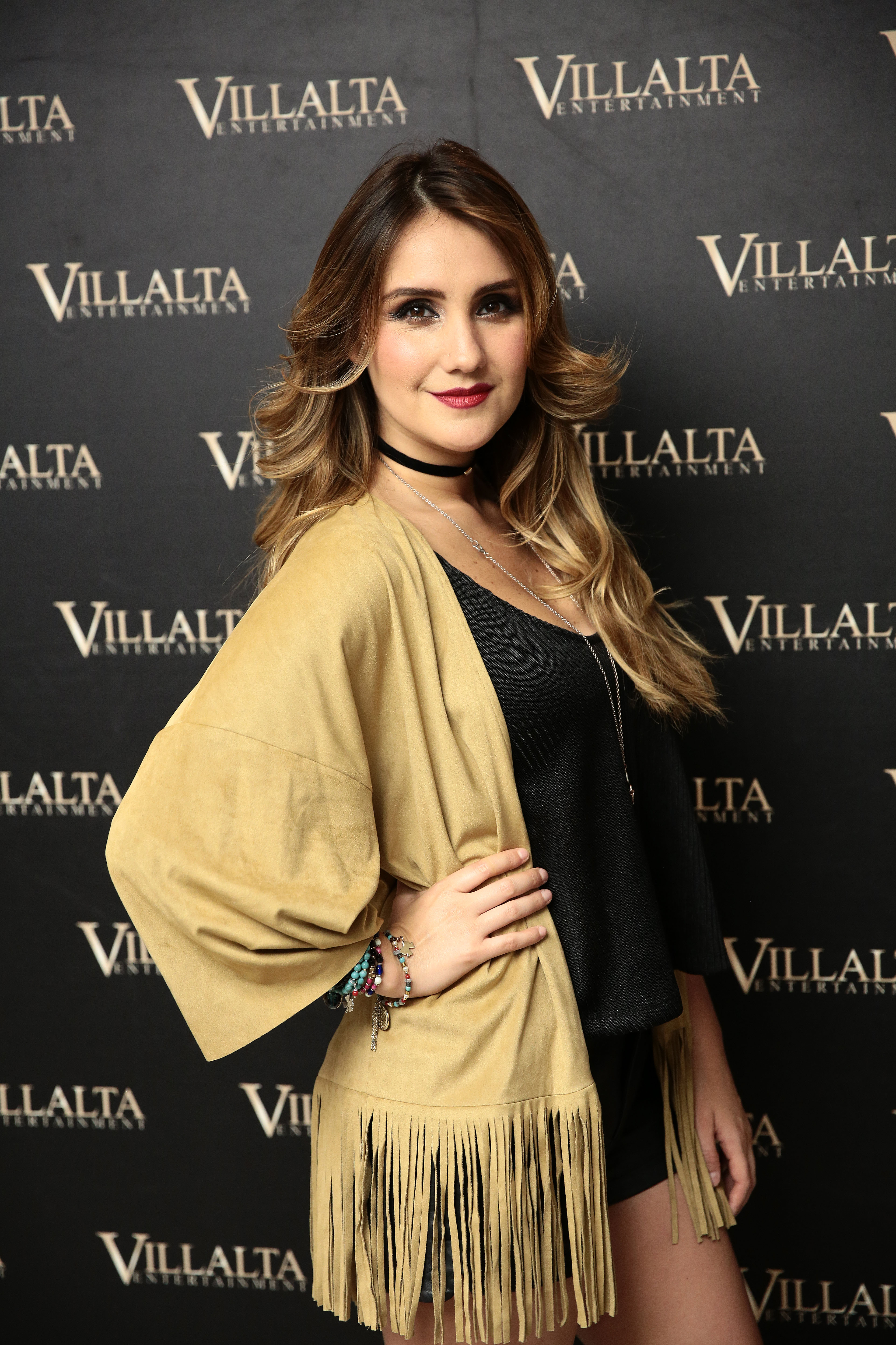 Dulce Maria Poses For a Photo Session In Madrid