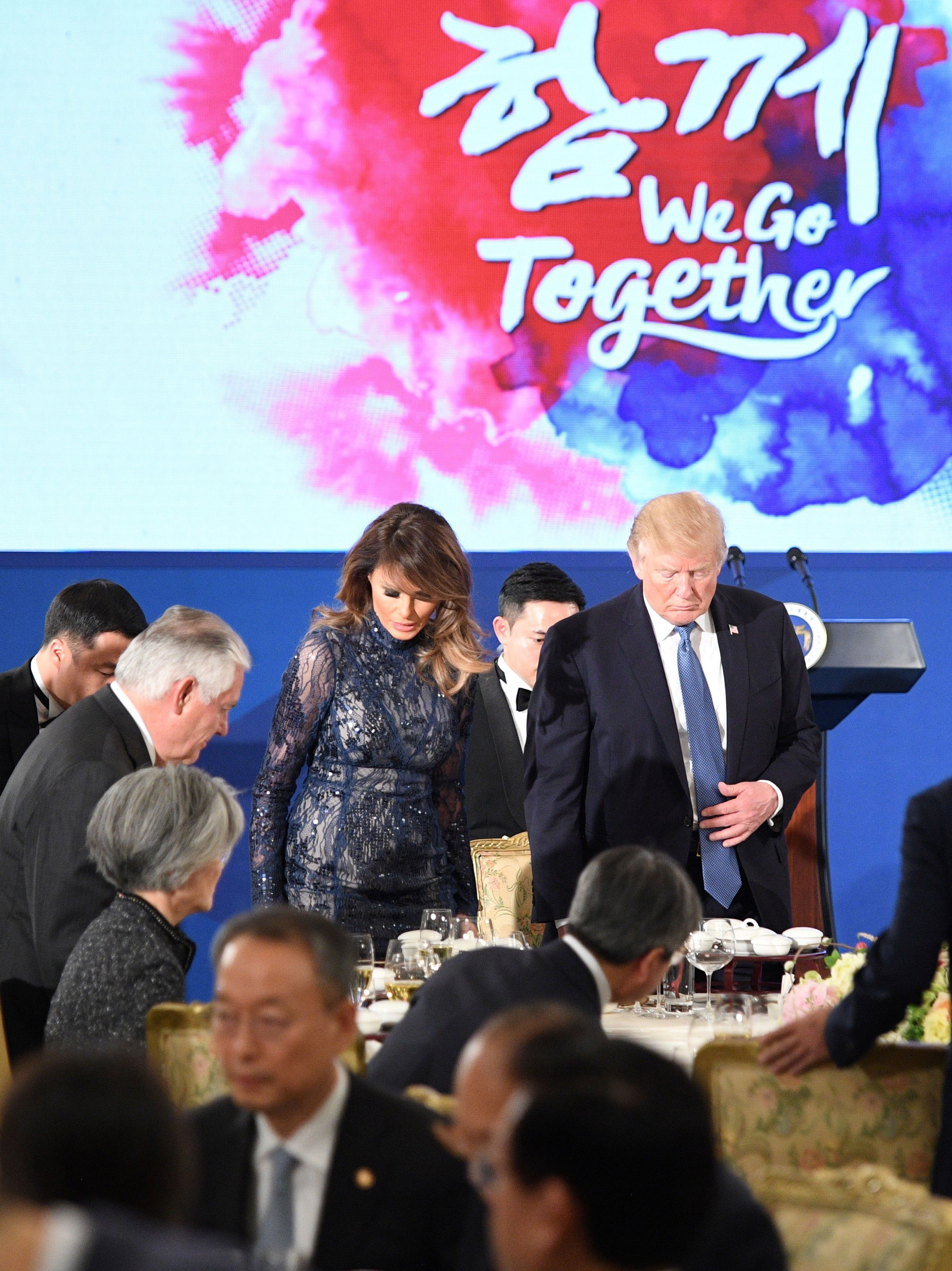 Melania Trump, asia, japon, china, looks, South Korea
