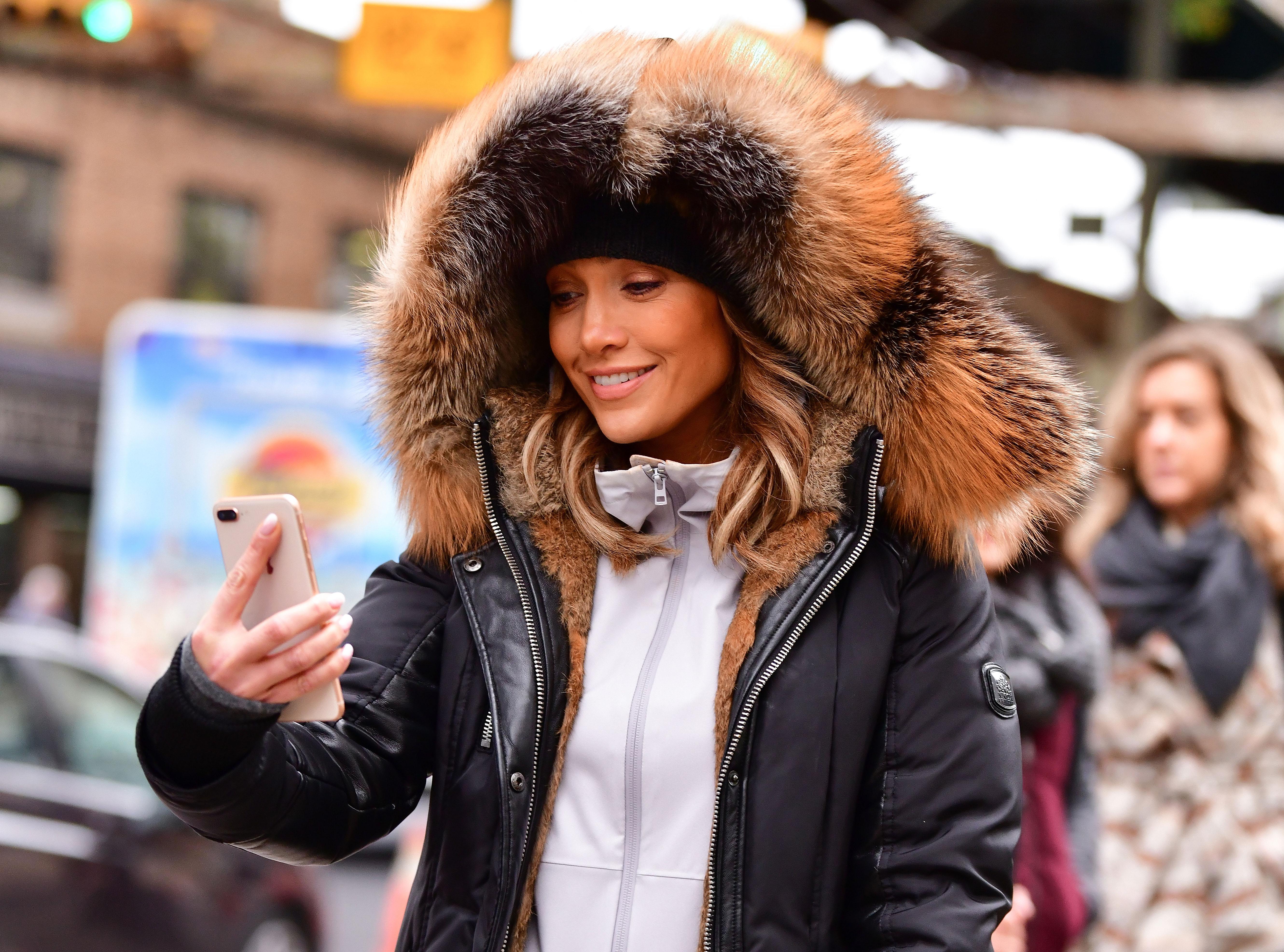 Celebrity Sightings in New York City - November 7, 2017