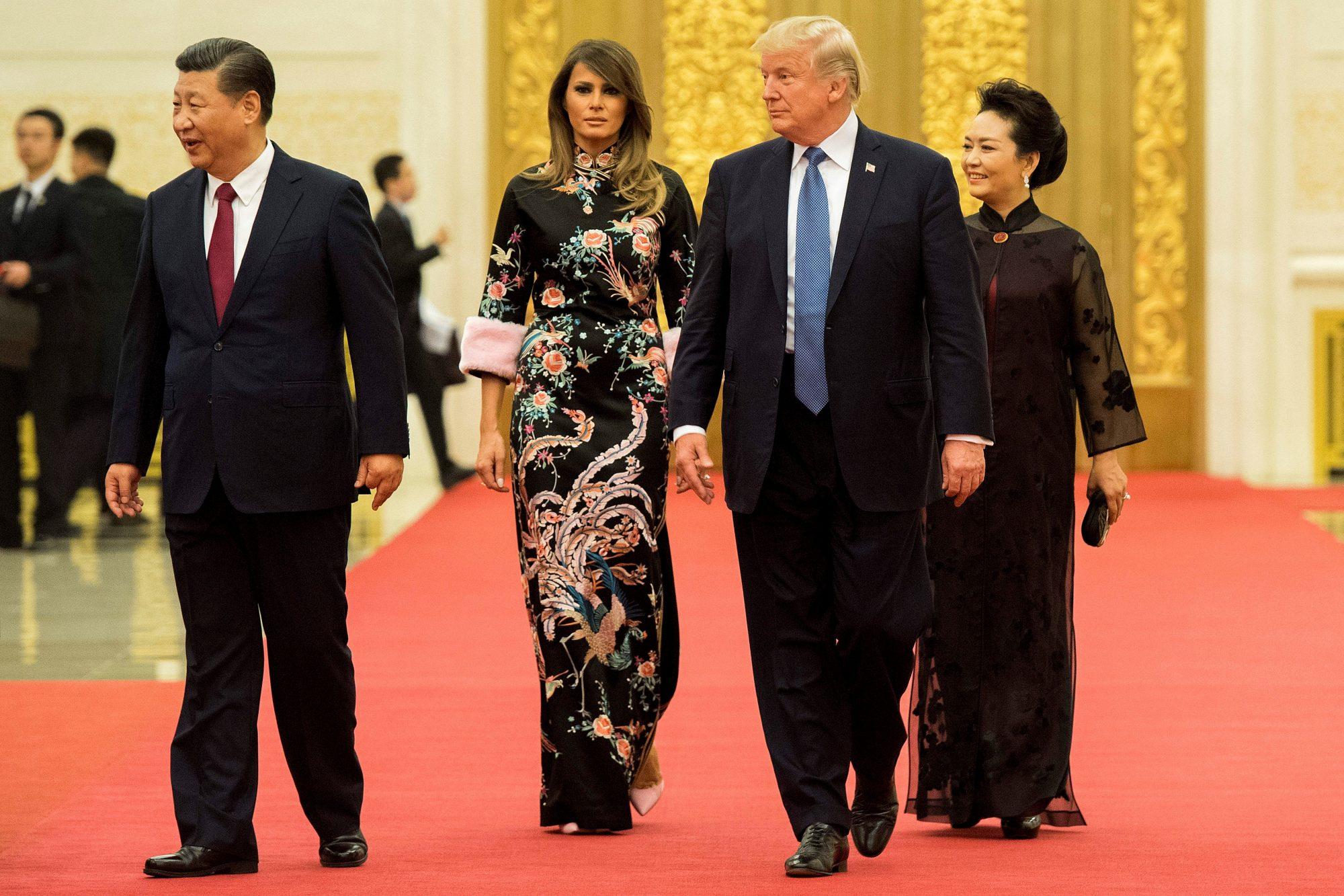 Melania Trump, looks, asia, japon, china