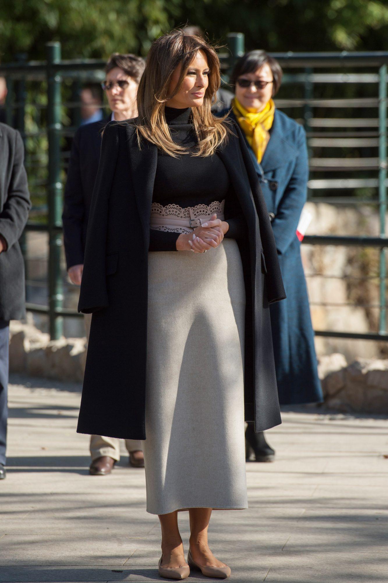 Melania Trump en Beijing