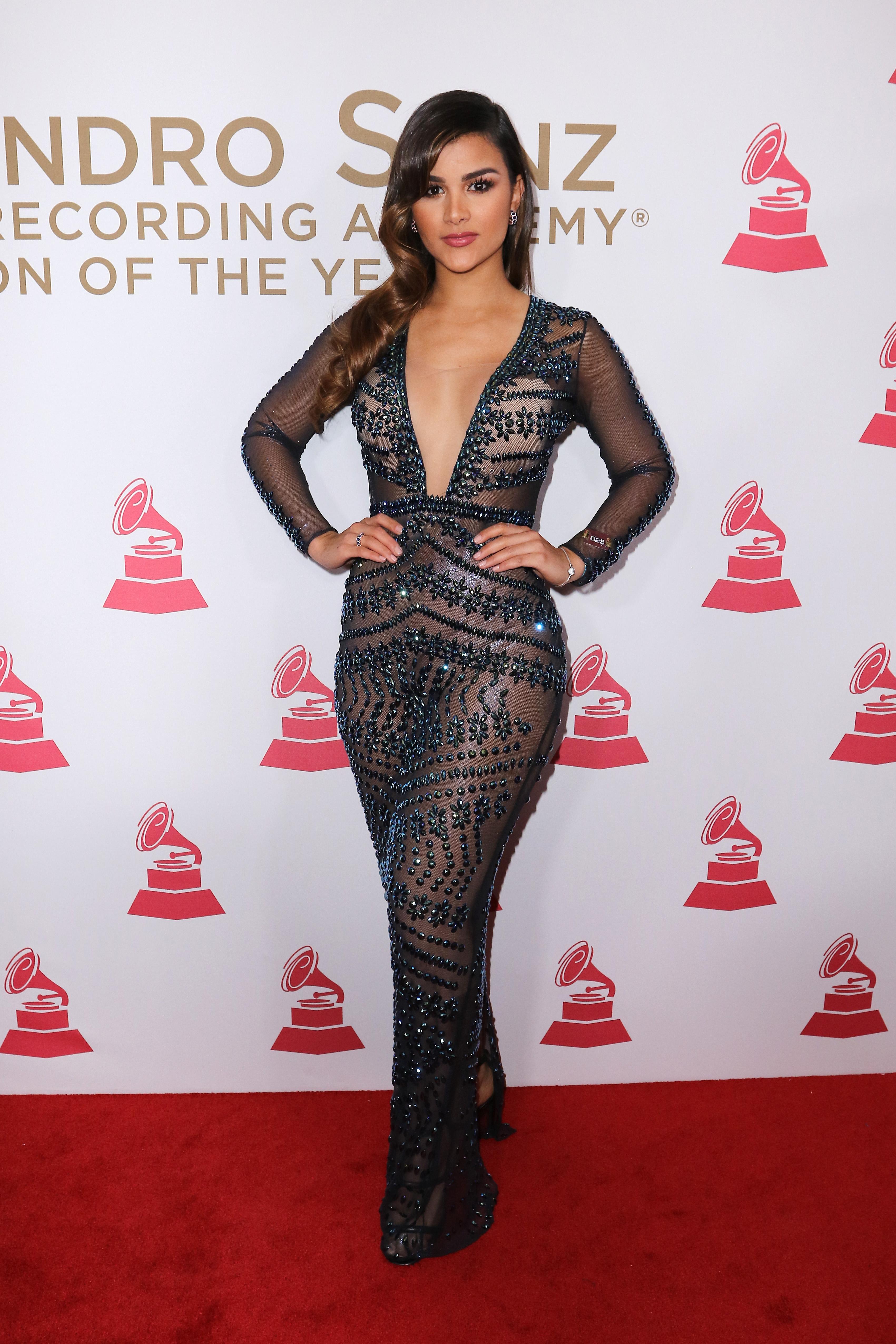 Clarissa Molina, looks, estilo, latin Grammy