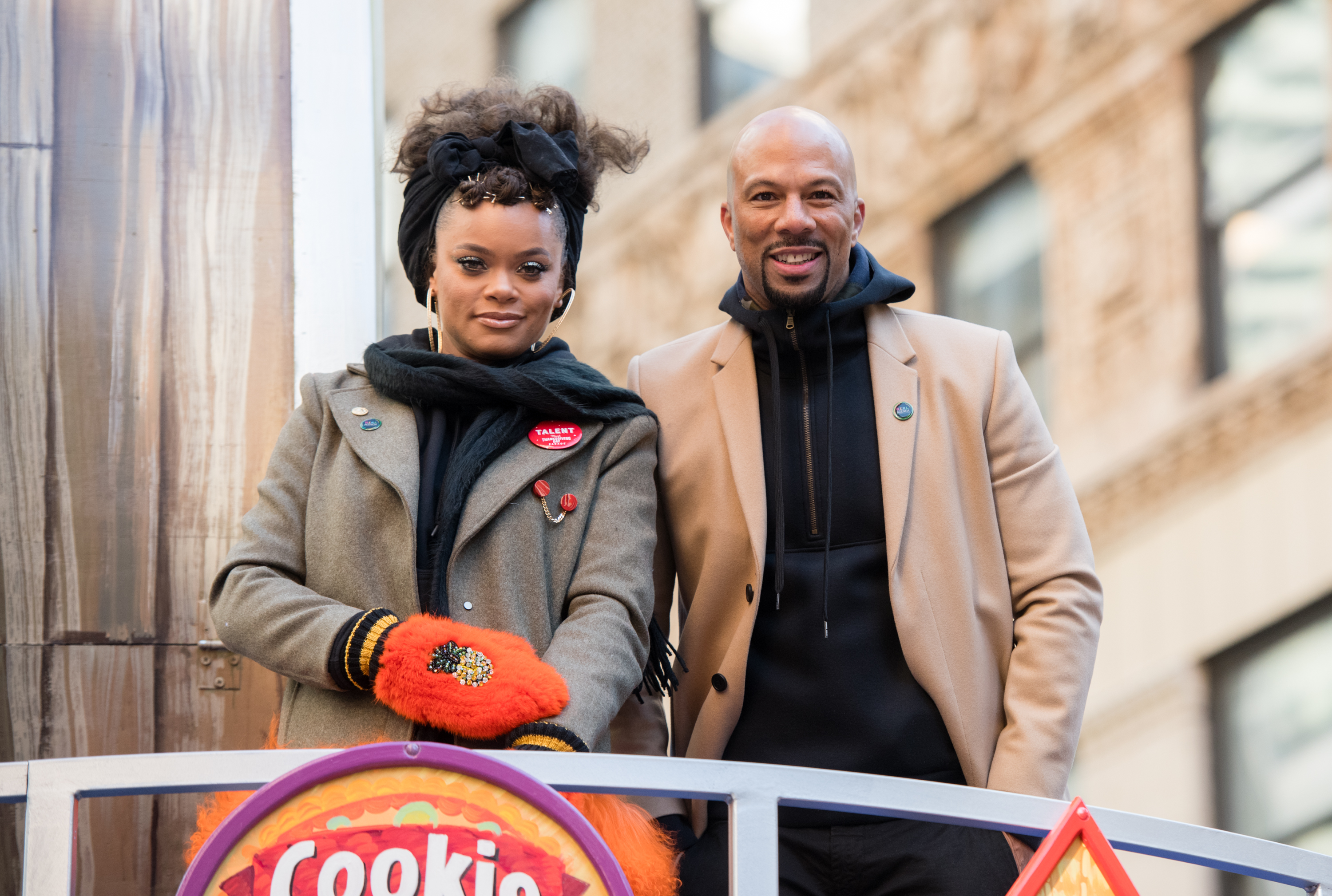 Andra Day y Common, Thanksgiving Day Parade