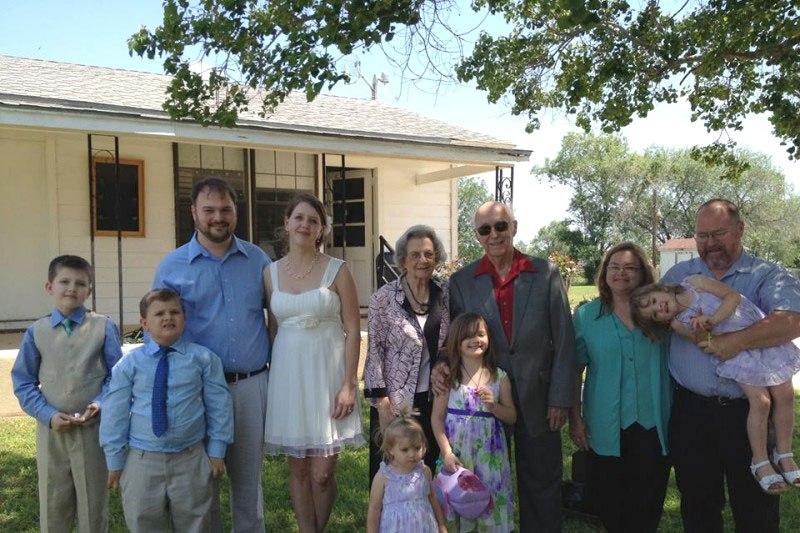Algunos de la familia Holcombe