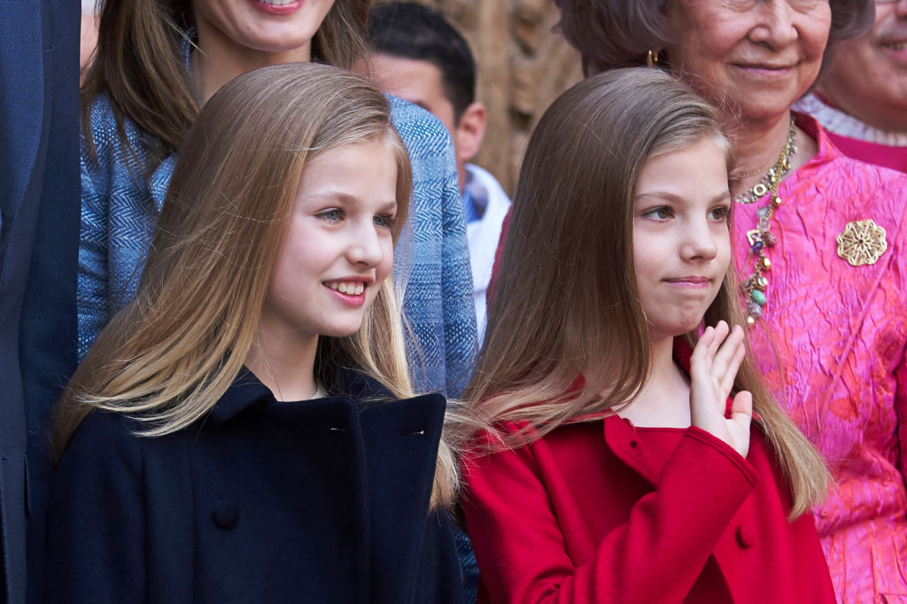 Spanish Royals Attends Easter Mass In Palma de Mallorca