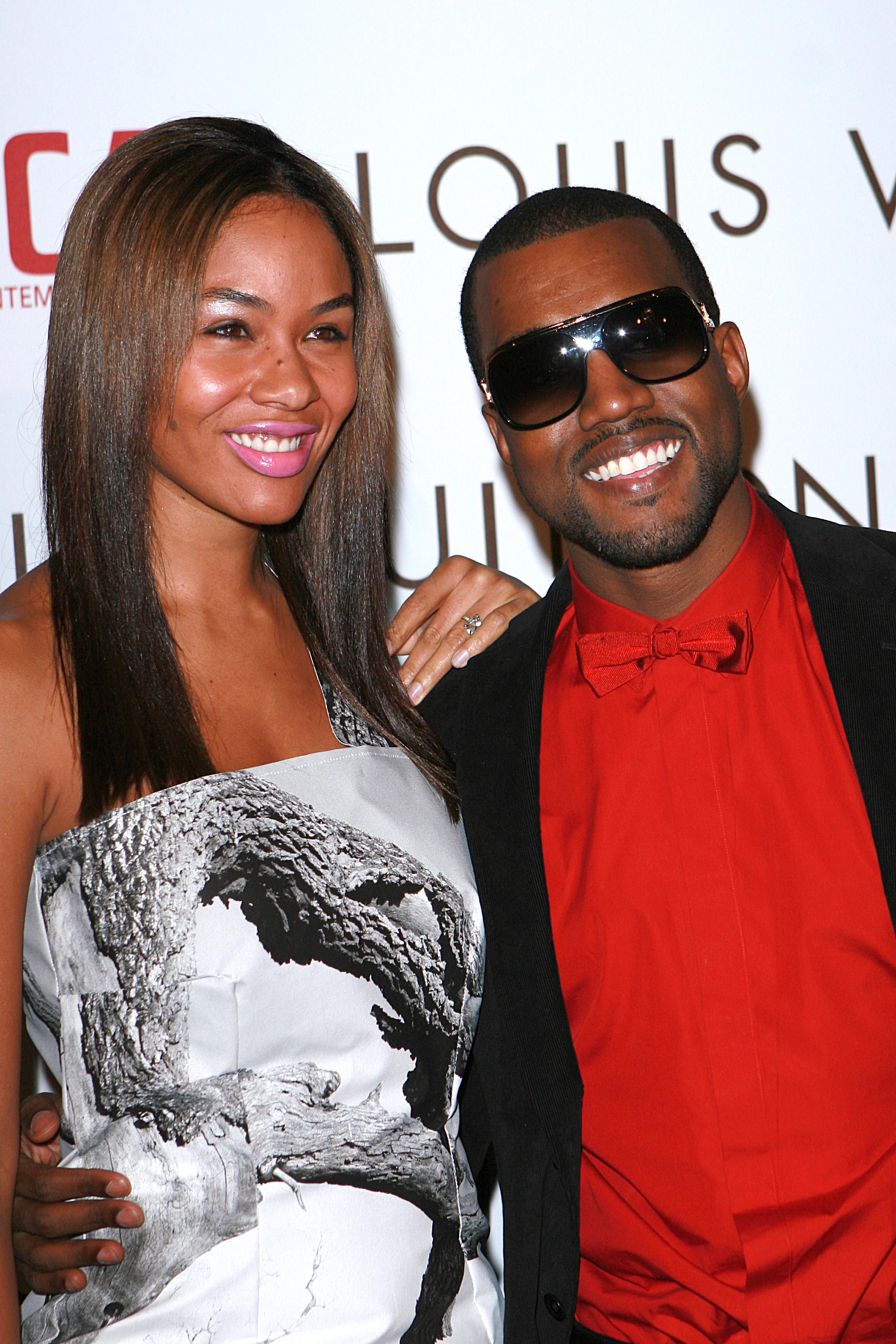 Alexis Phifer y Kanye West