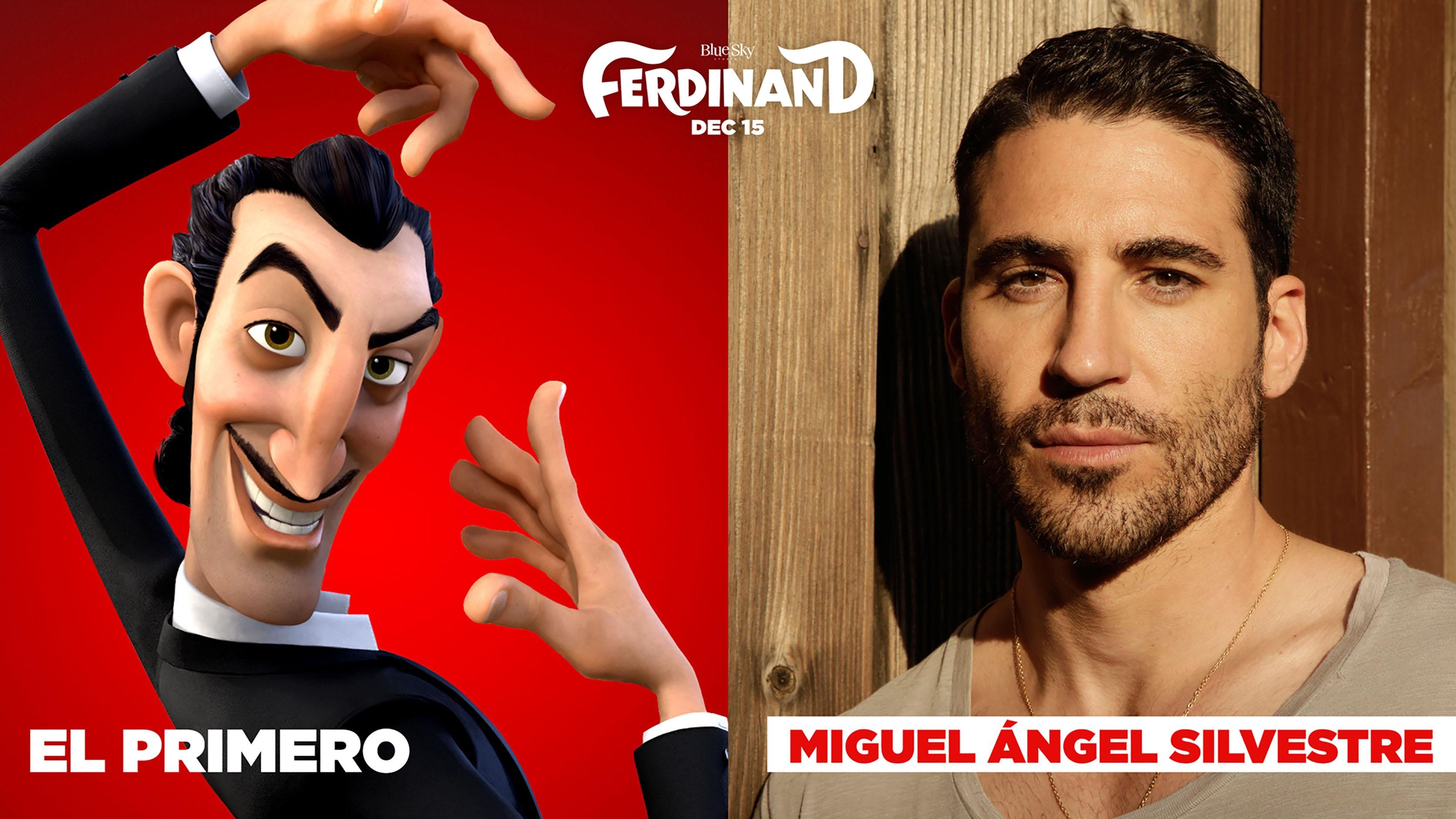 Miguel Angel Silvestre en Ferdinand