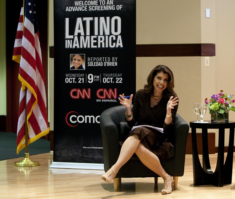 """""""Latino In America"""" Houston Screening"""