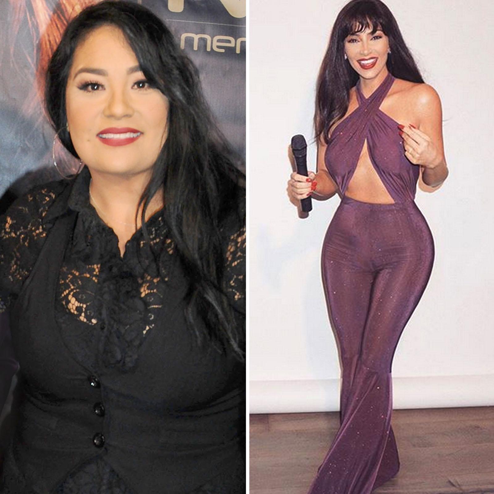 Suzette Quintanilla y Kim Kardashian