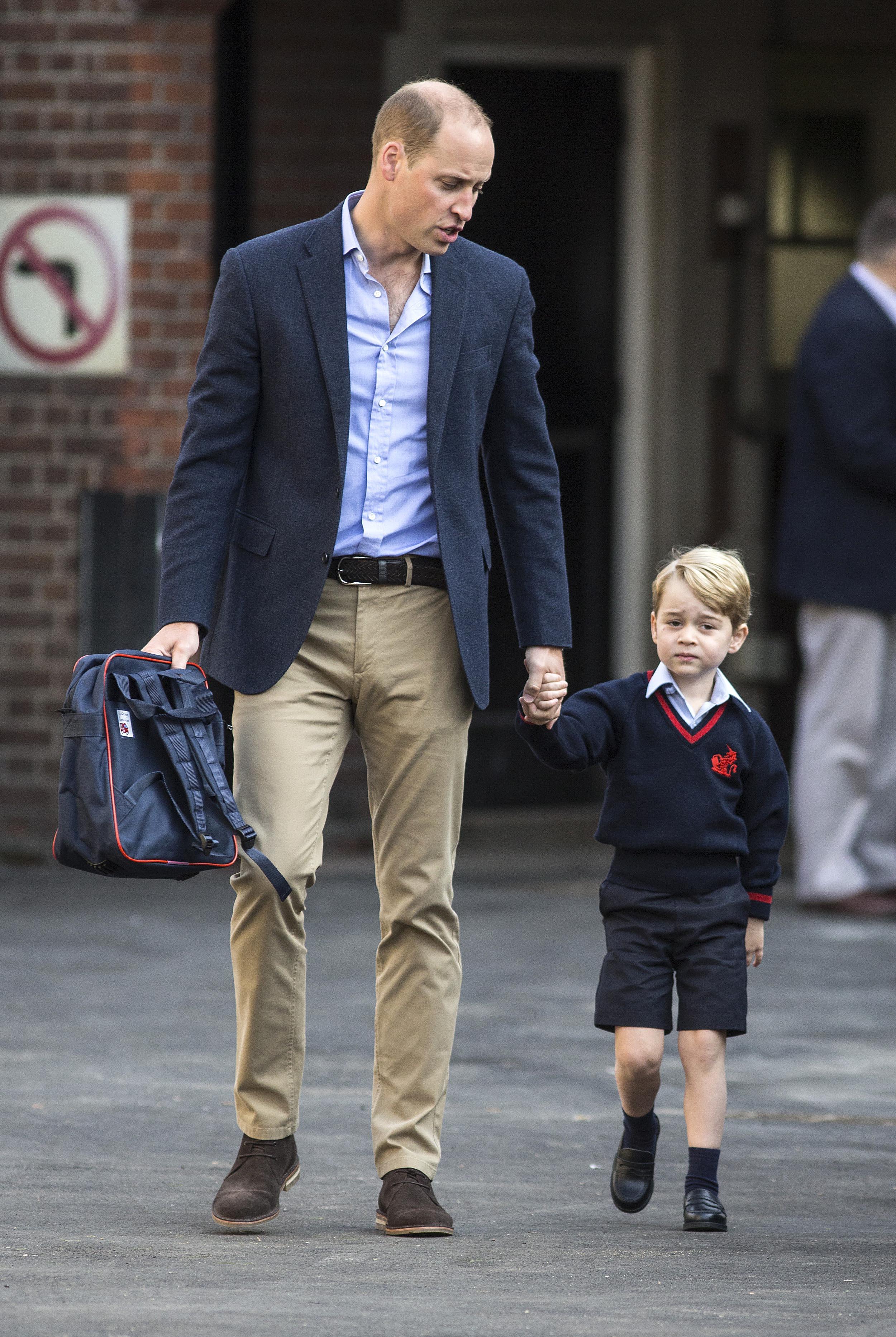 Príncipe George, Príncipe William