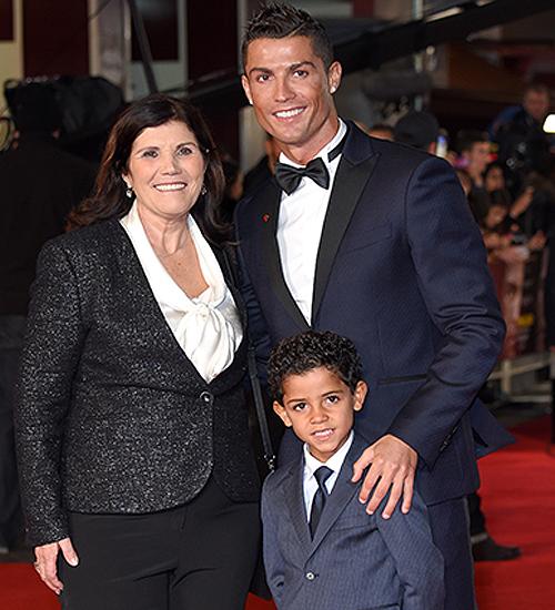 Maria Dolores dos Santos Aveiro, Cristiano Ronaldo, Cristiano Ronaldo Jr.