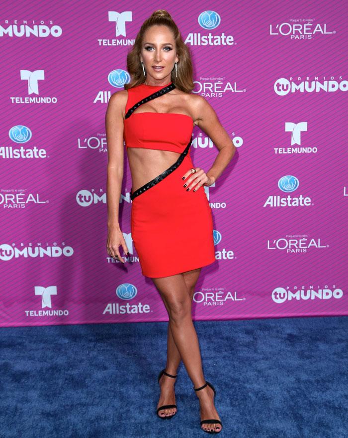 GERALDINE BAZÁN, Premios Tu Mundo 2015