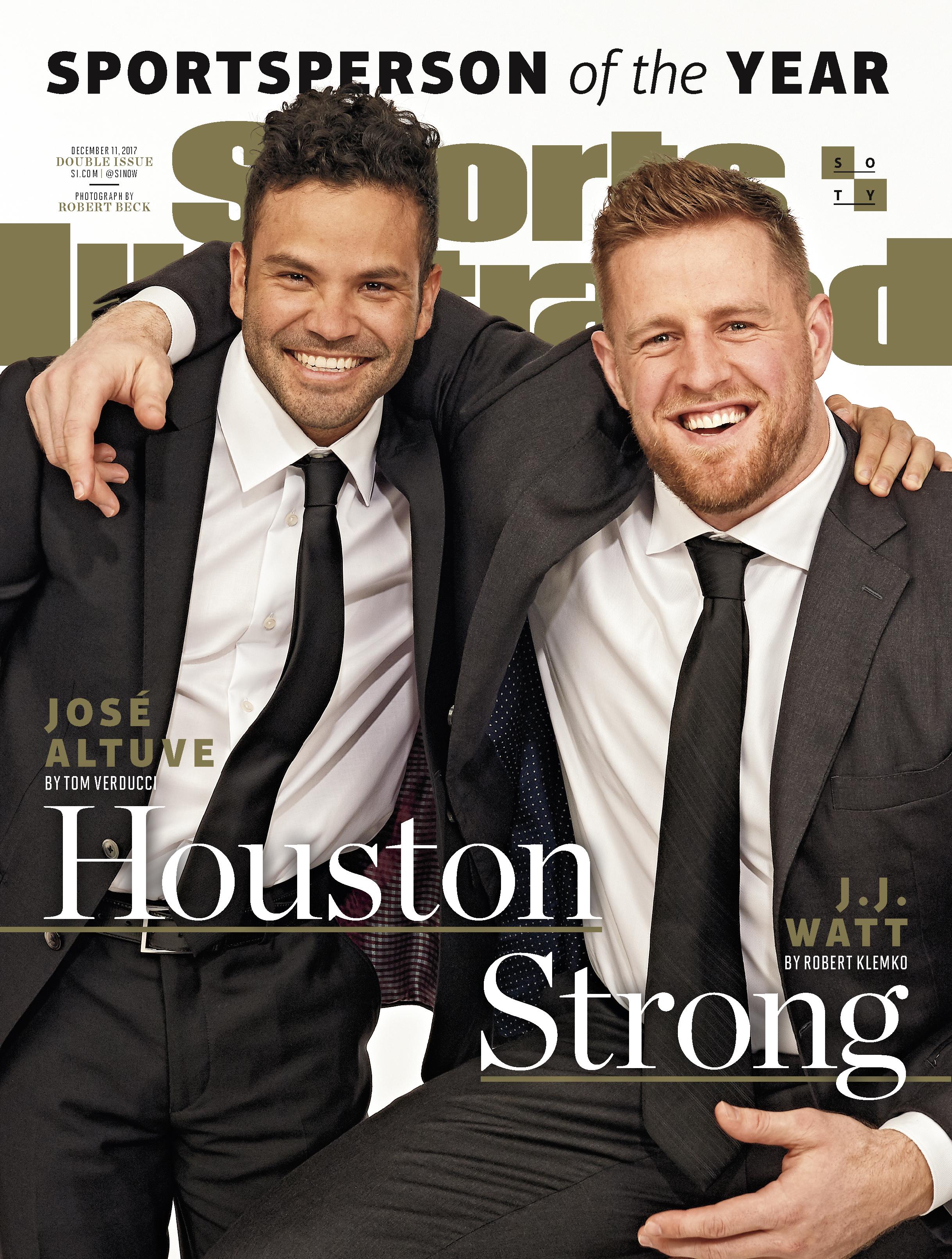Deportista del Año de Sports Illustrated: José Altuve y J.J. Watt