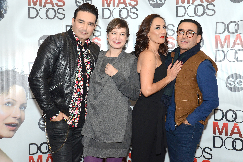 Mauricio Islas, Mónica Dione, Consuelo Duval, Adal Ramones