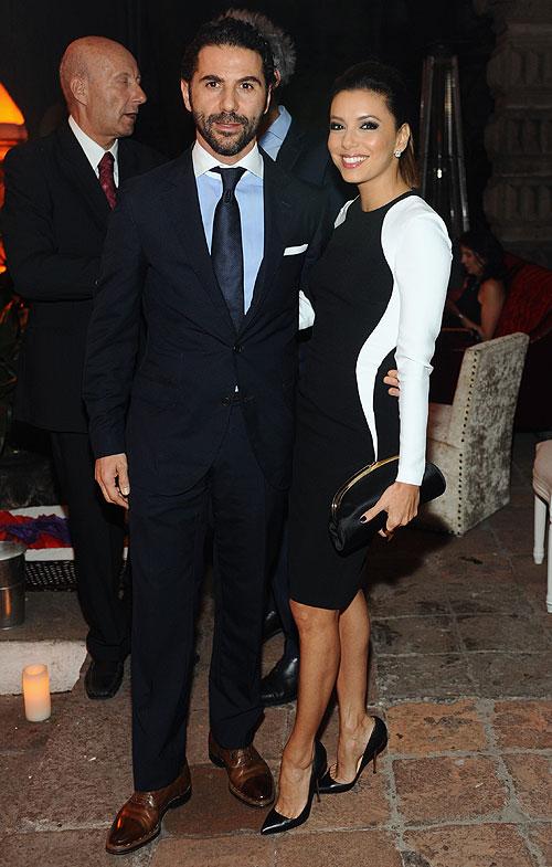 José Bastón y Eva Longoria