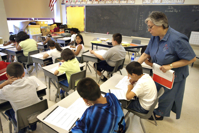 Salón de clase en Chicago, Illinois.
