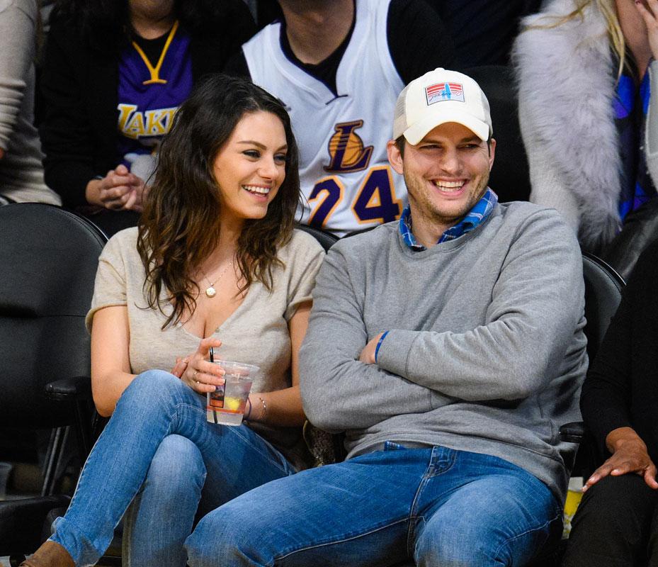 Parejas sigilosas, Mila Kunis & Ashton Kutcher