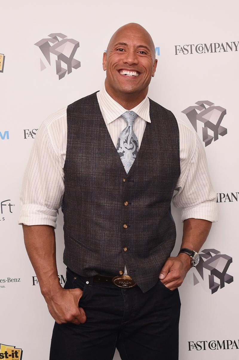 Forbes, actores mejores pagados, Dwayne Johnson