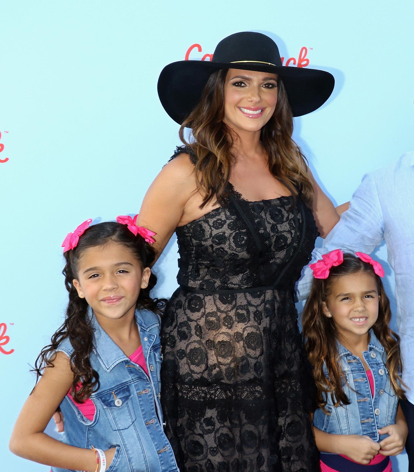 Bárbara Bermudo y su hijas Mia y Camila