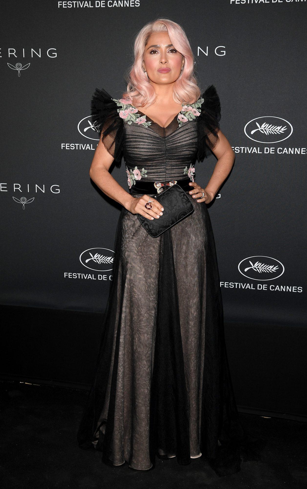Salma Hayek, style, look, Cannes