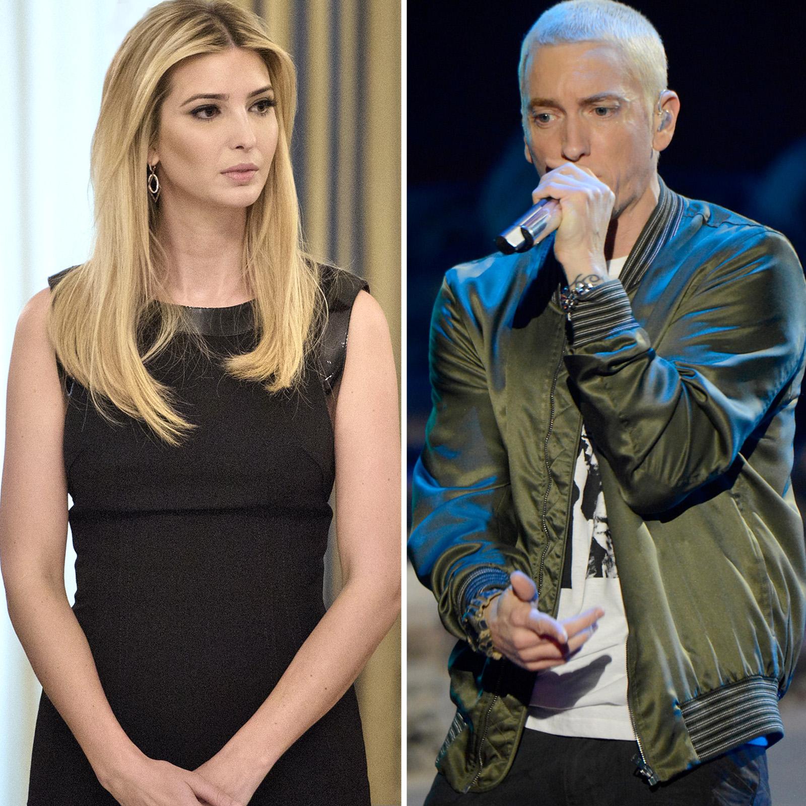 Ivanka Trump y Eminem