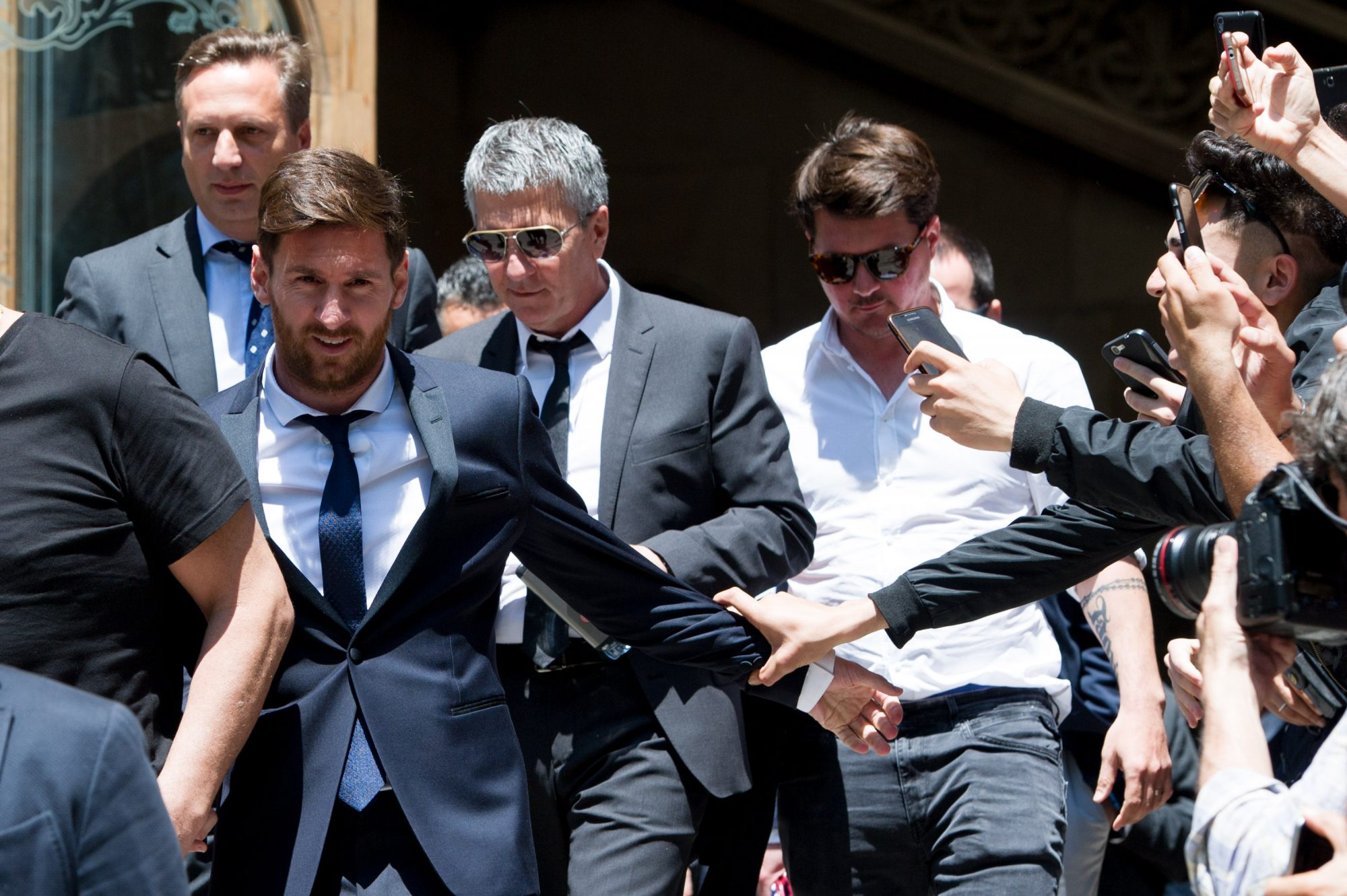 Leo Messi y hermano Matías Messi