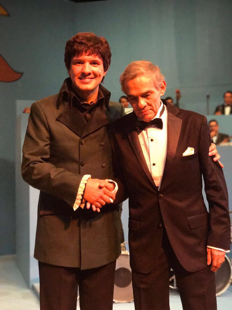 Alex de la Madrid con José José