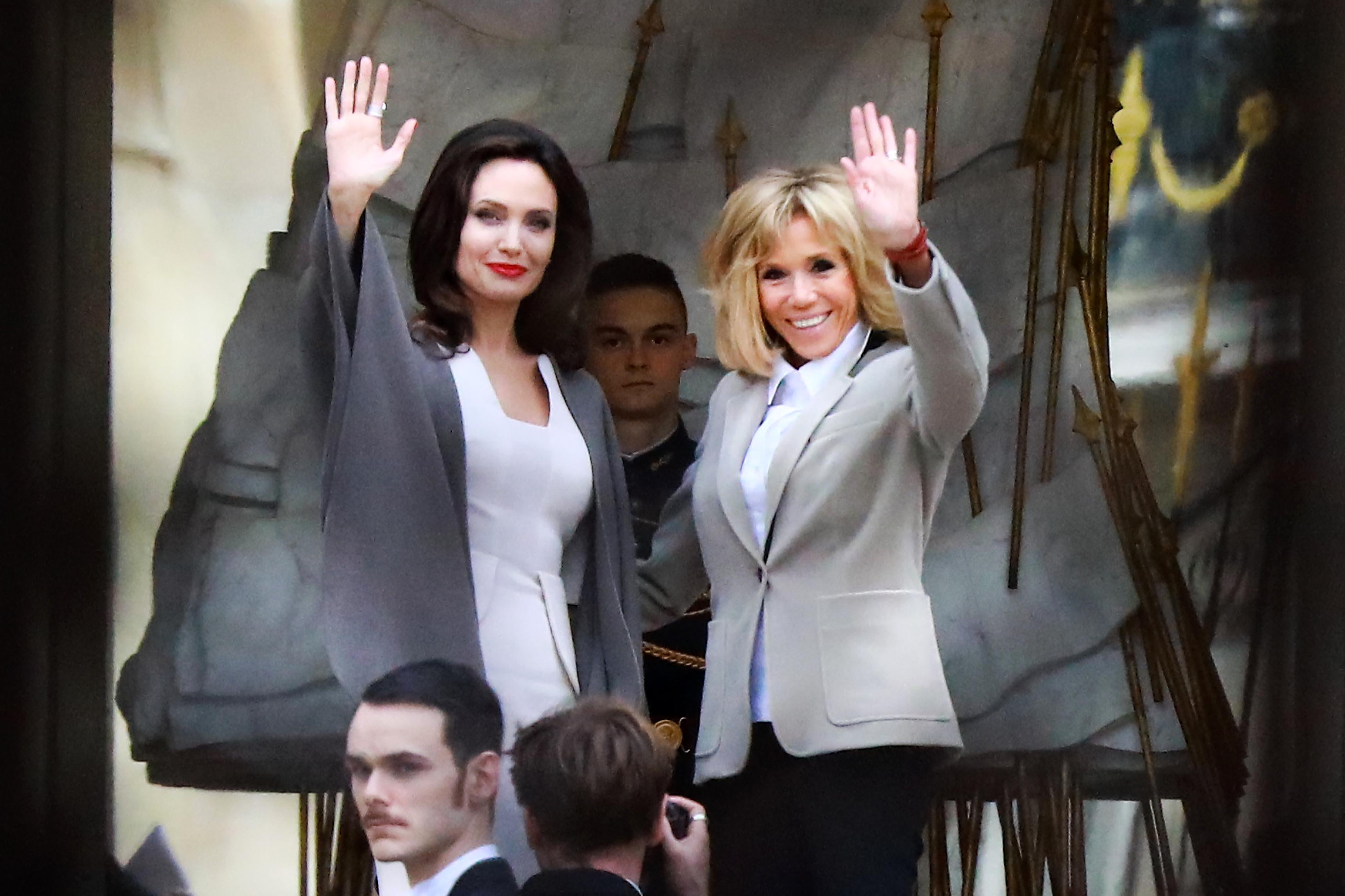 Angelina Jolie, Brigitte Macron