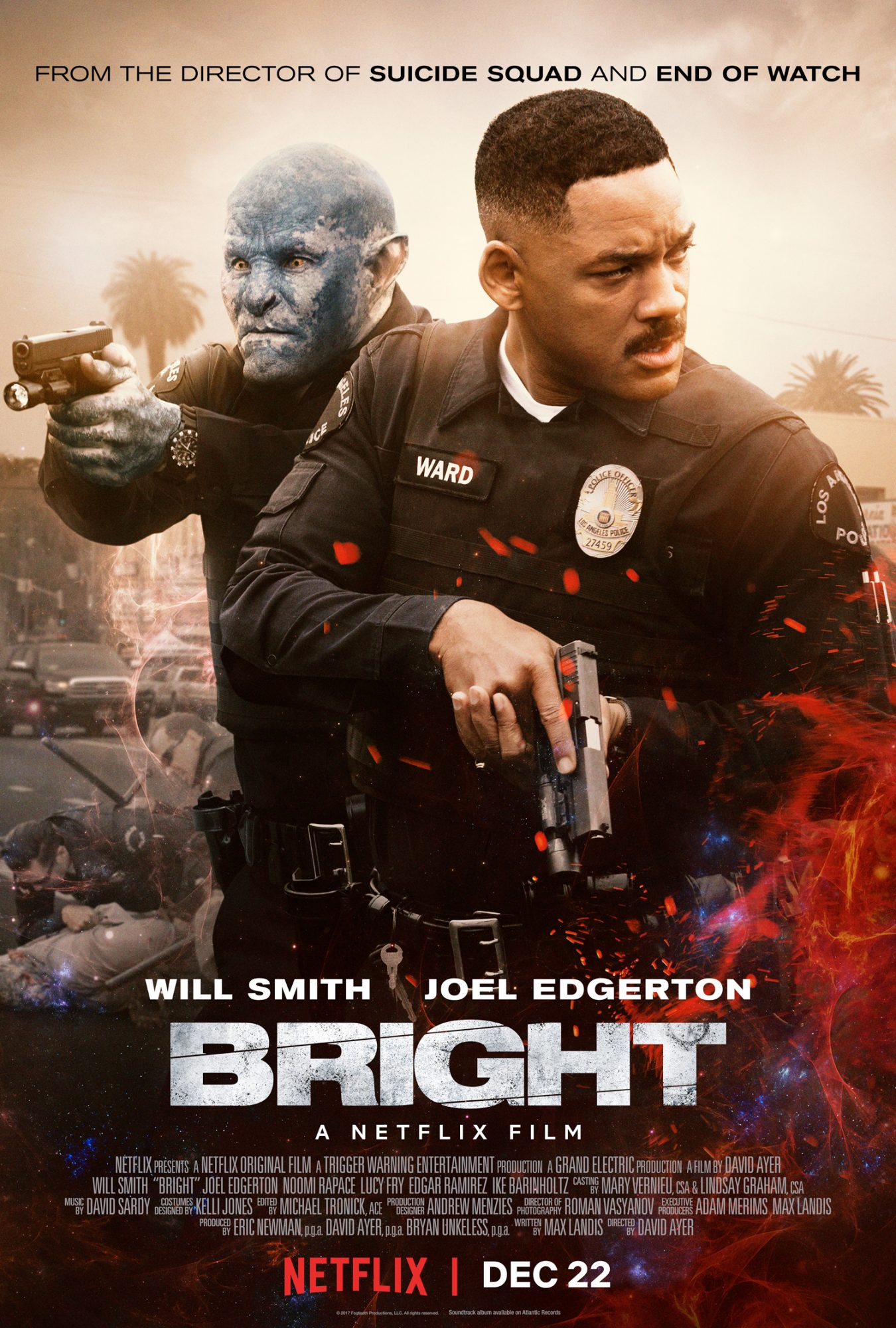 Bright, Will Smith