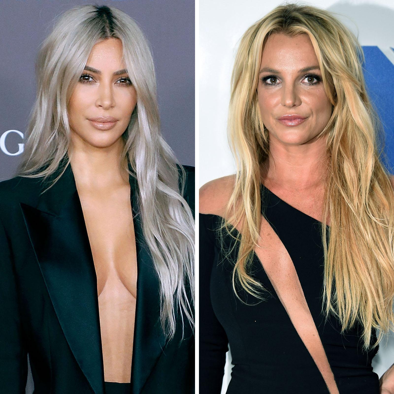 Kim Kardashian West y Britney Spears