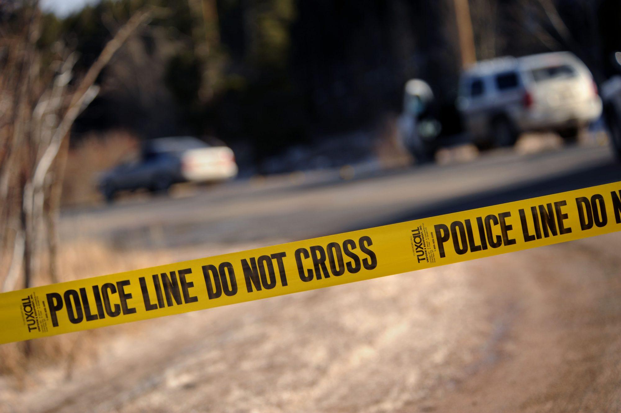 Escena de crimen en Colorado