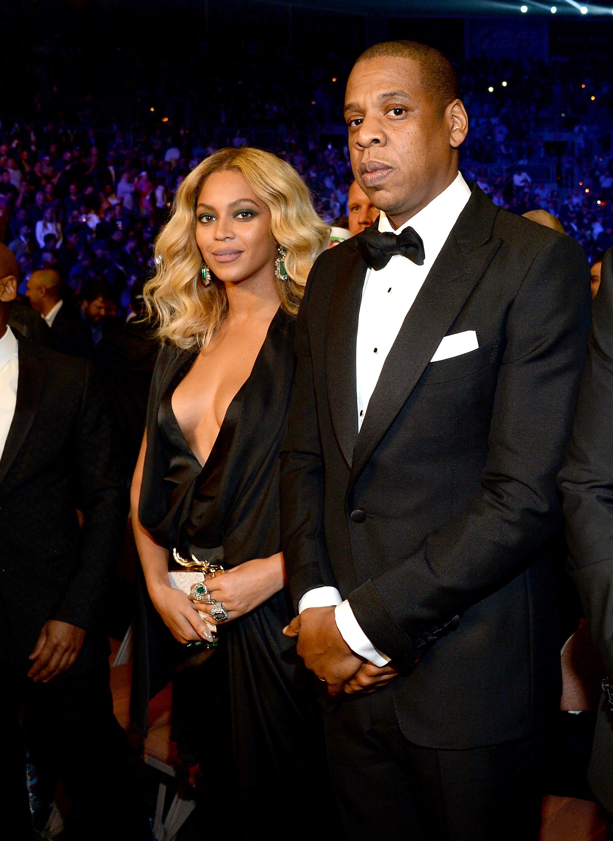 Beyonce Knowles y Jay-Z