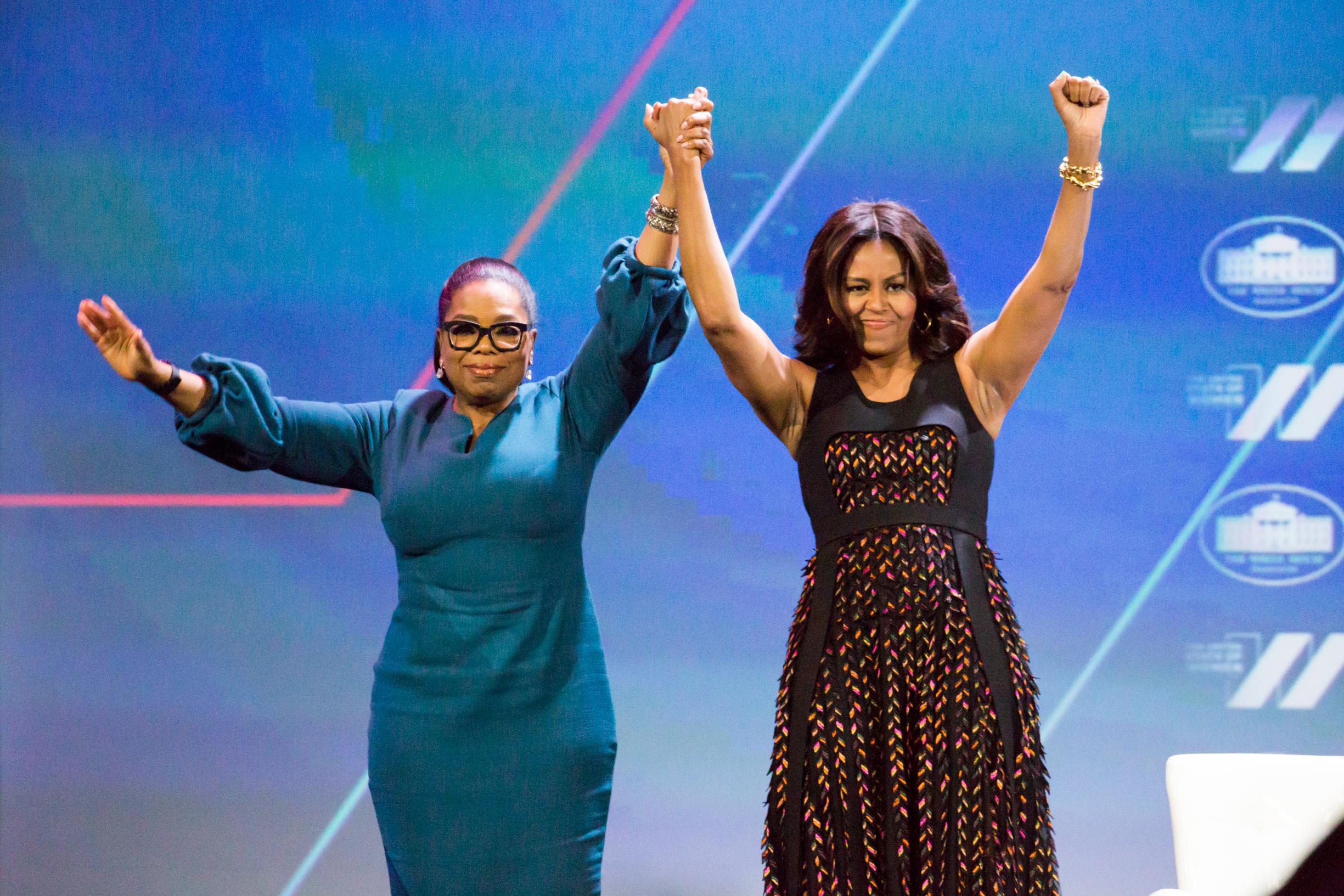 Oprah y Michelle