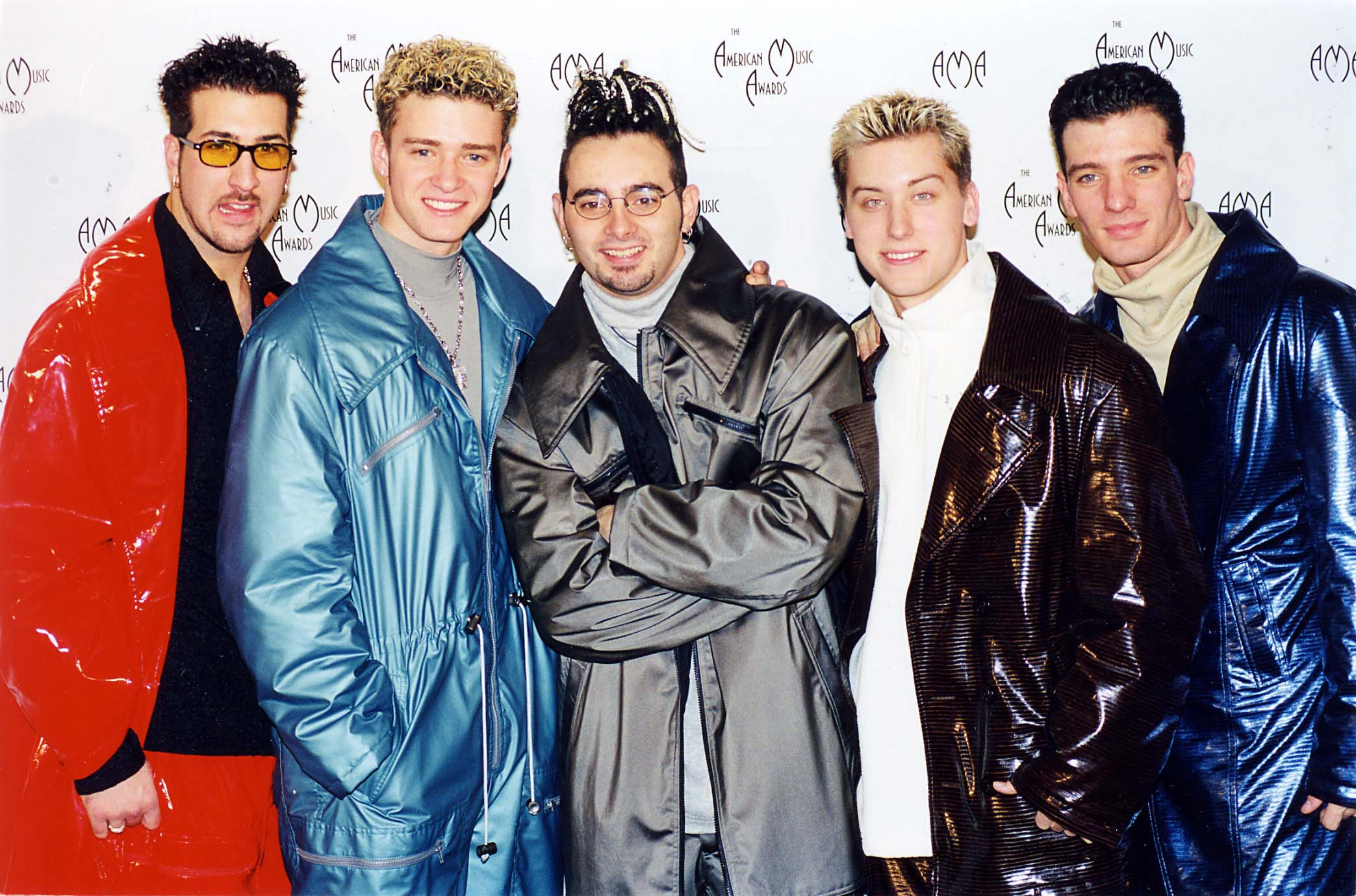 Joey Fatone, Justin Timberlake, Chris Kirkpatrick, Lance Bass y JC Chasez