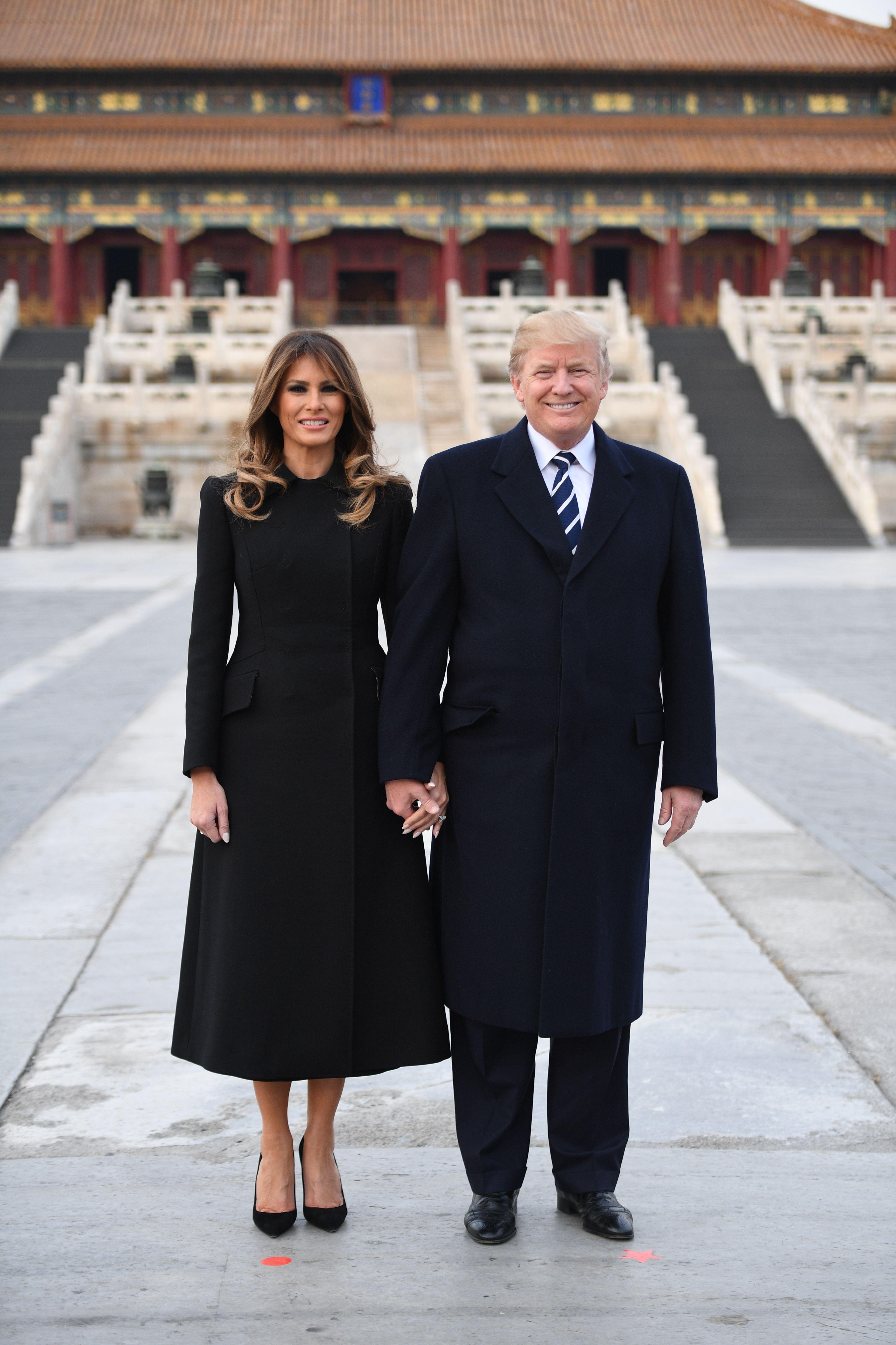 Melania Trump, asia, japon, china, Beijing, looks