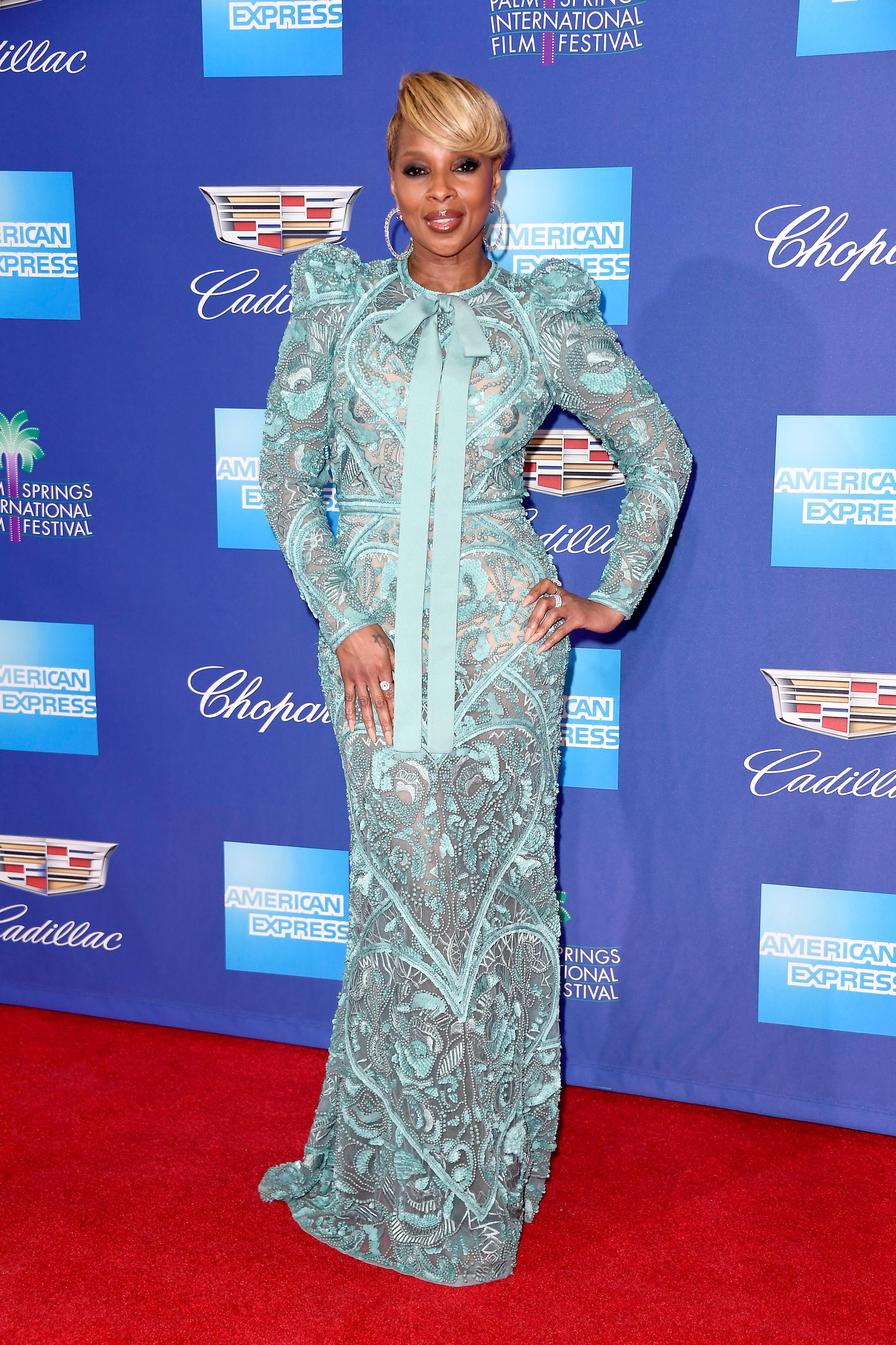 Mary J Blige, looks, estilo, style