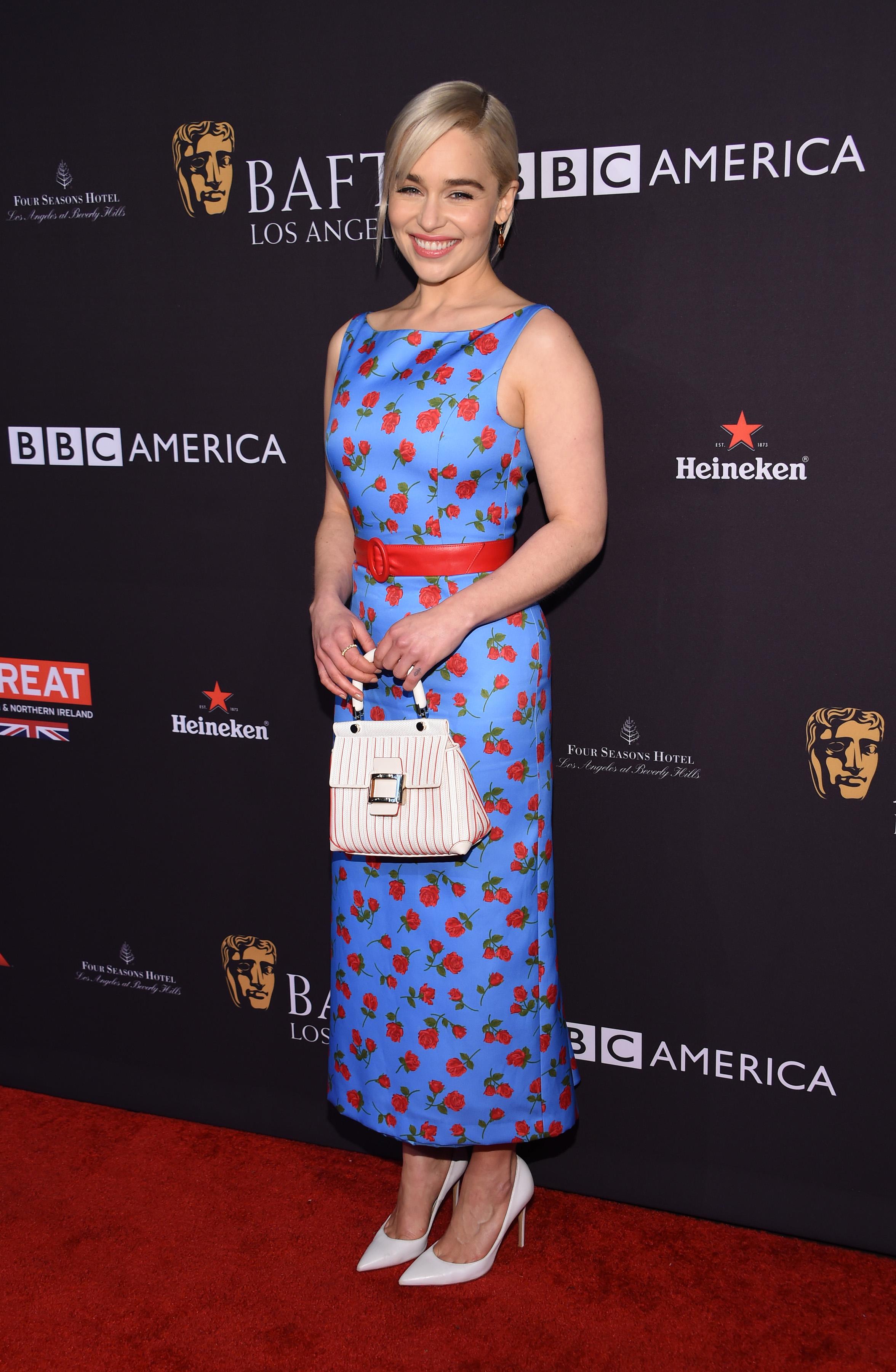 Emilia Clarke, looks, estilo, style