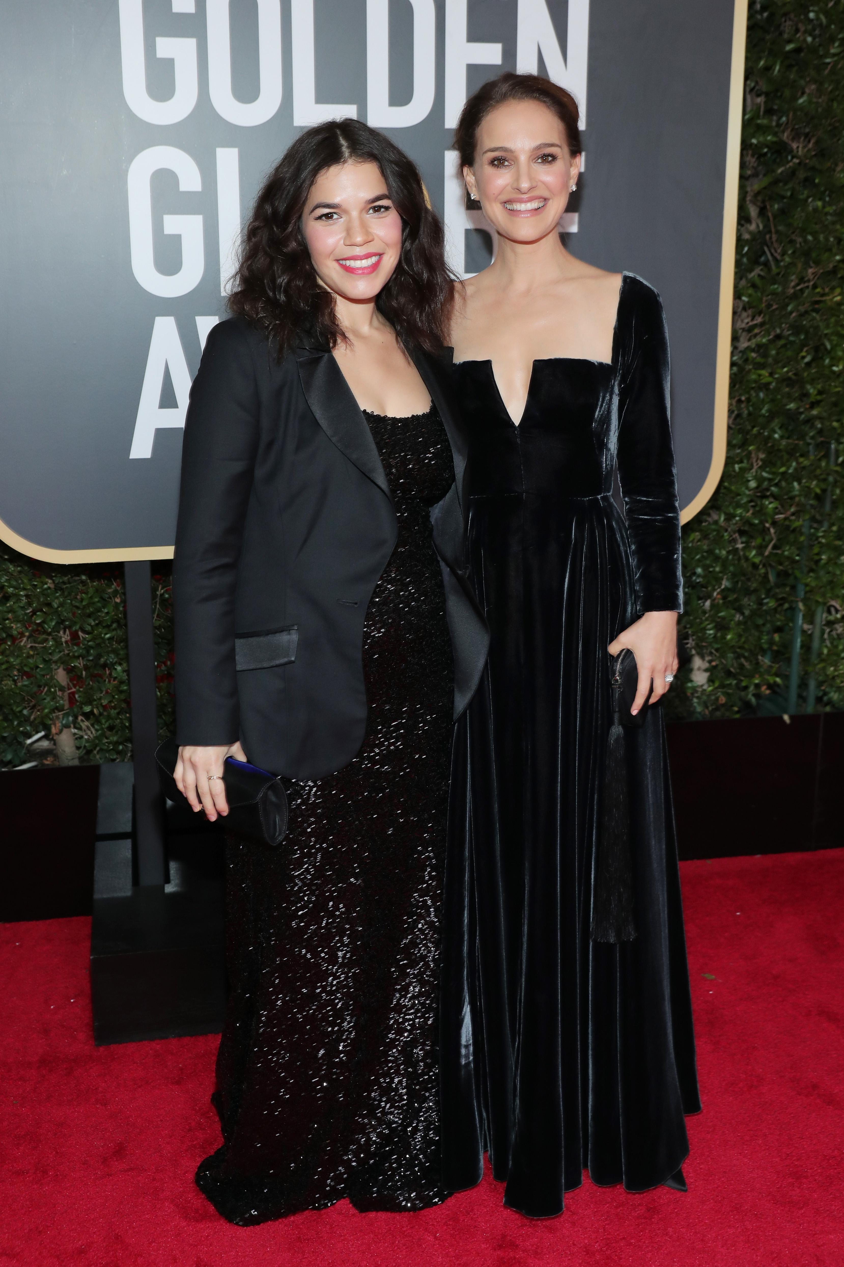 America Ferrera y Natalie Portman