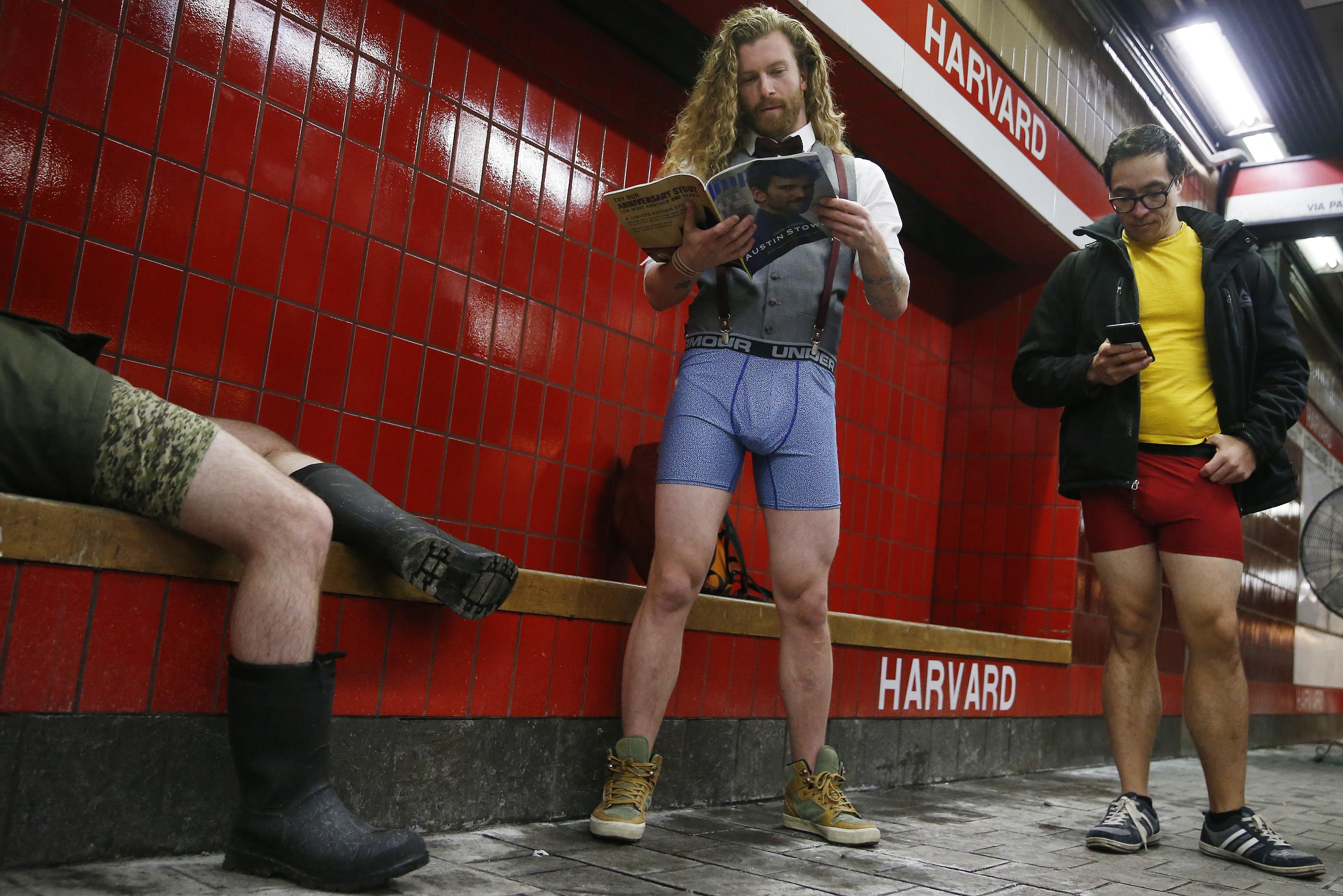Annual No Pants Subway Ride