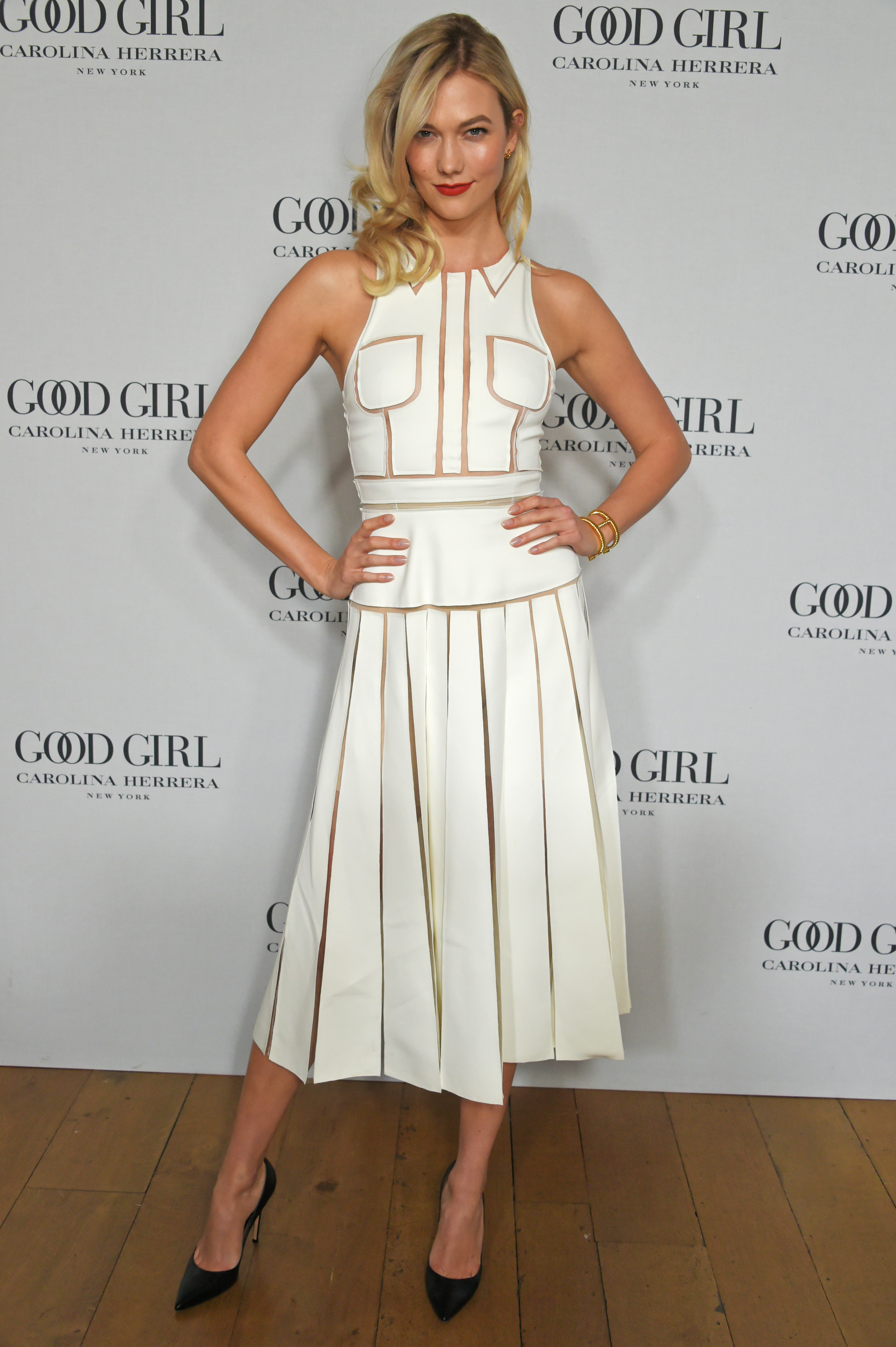 "Carolina Herrera Launches New Fragrance ""Good Girl"" With Karlie Kloss In London"