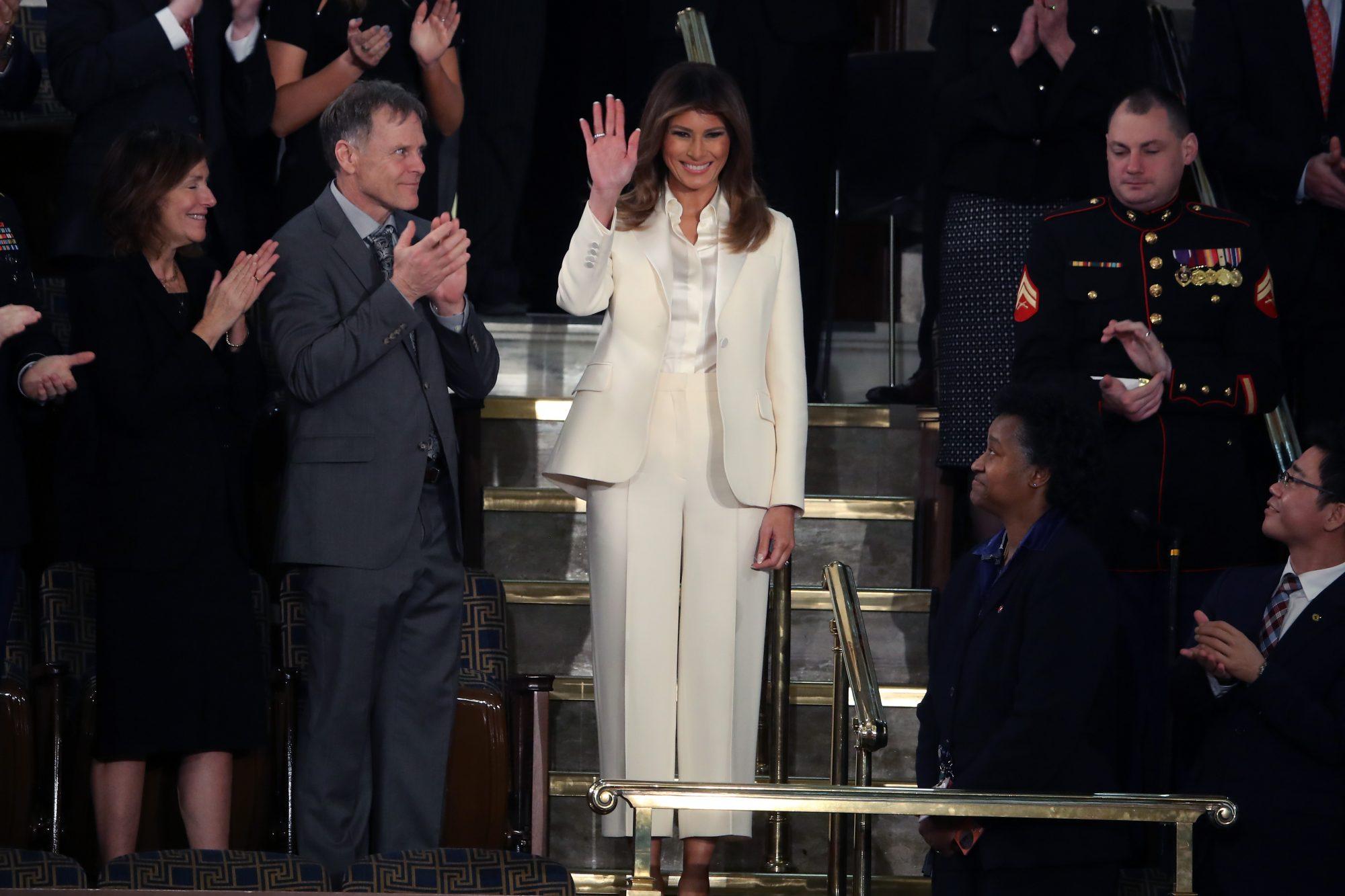 Melania Trump, looks, estilo, style,