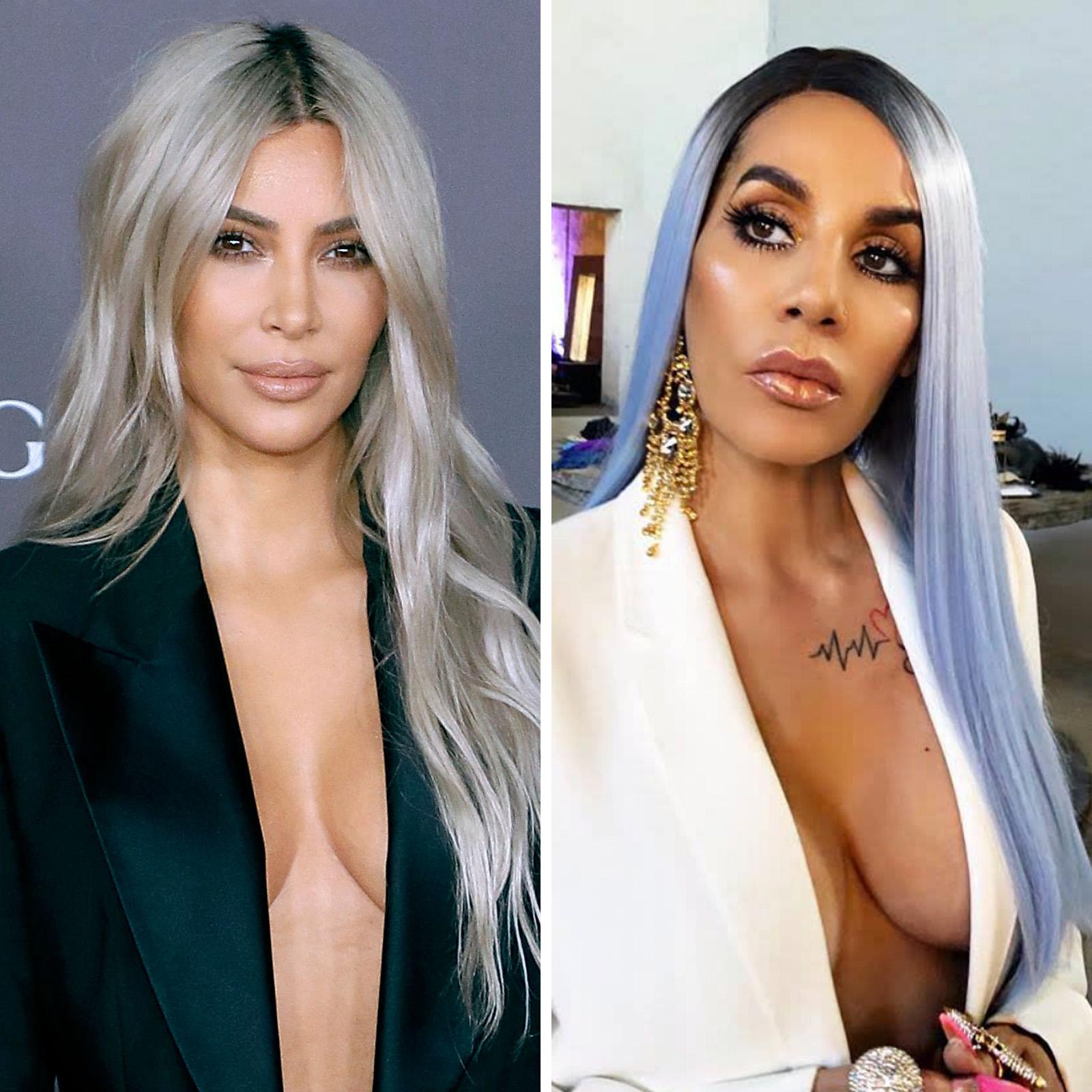 Kim Kardashian West y Ivy Queen