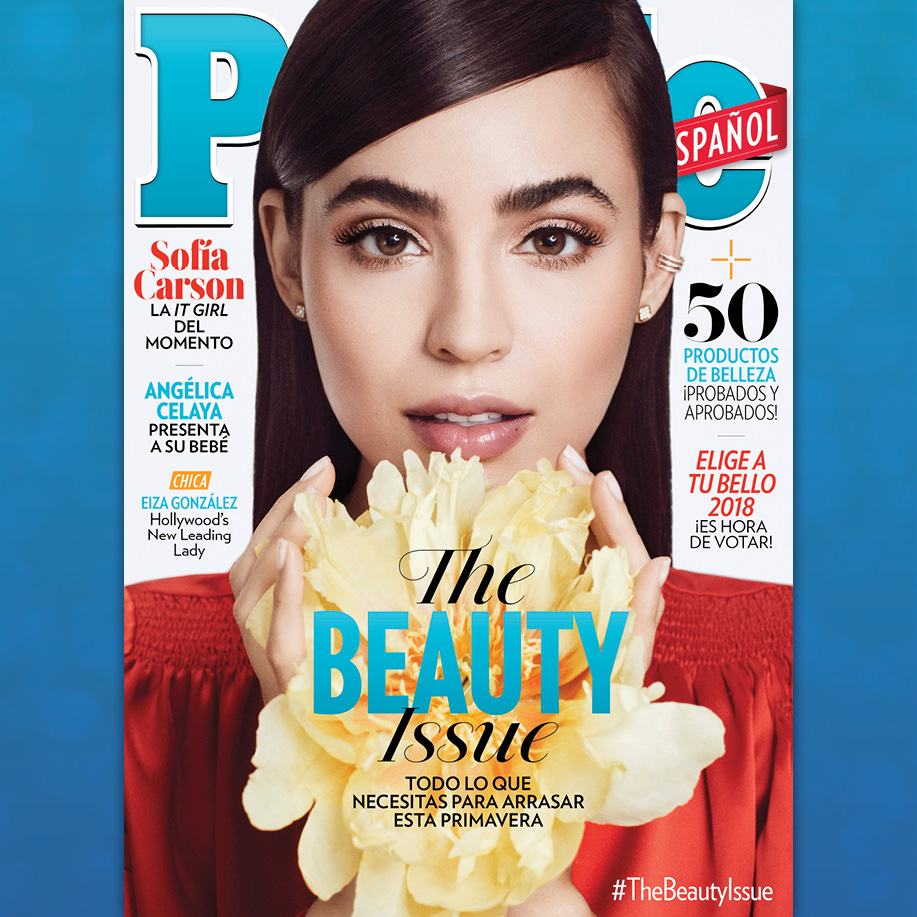 Sofia Carson en la portada de People En Español