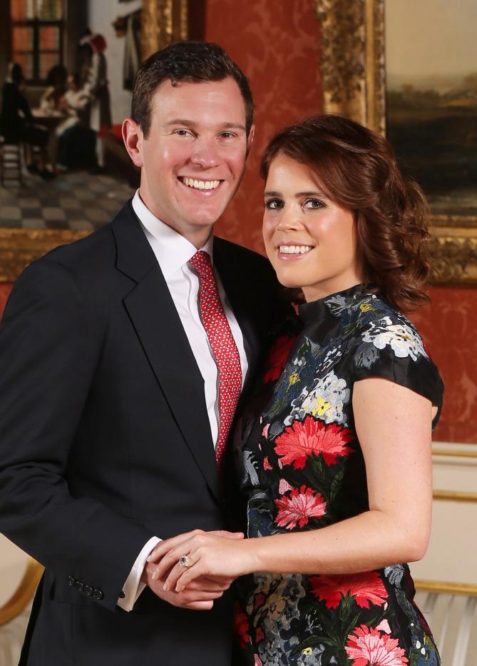 Princesa Eugenie y Jack Brooksbank