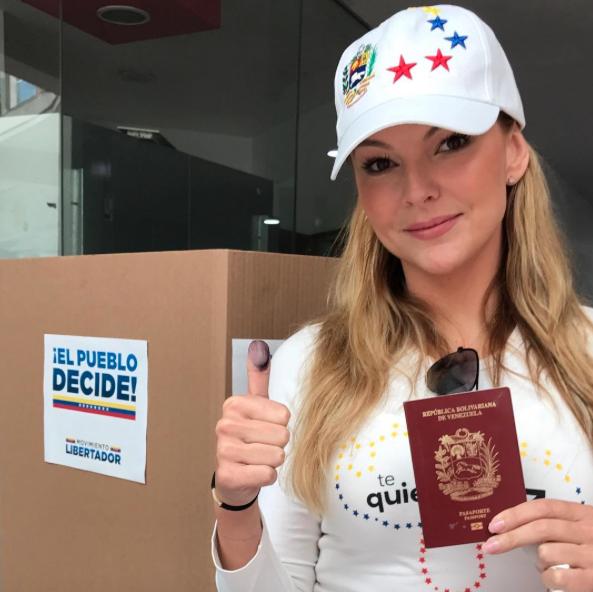 Marjorie de Sousa, voto plebiscito Venezuela
