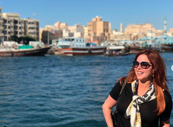 María Celeste Arrarás, Dubai