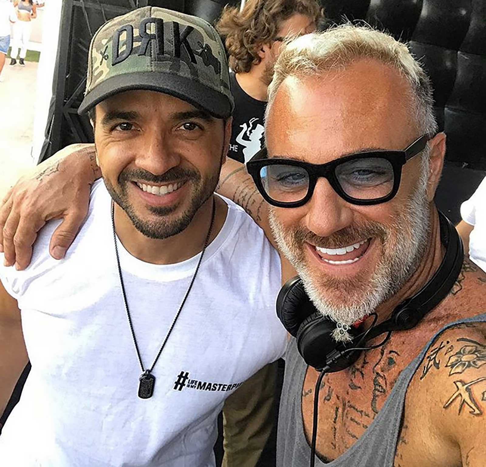 Gianluca Vacchi, Luis Fonsi