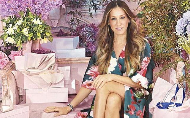 Sarah Jessica Parker para artículo zapatos de novia