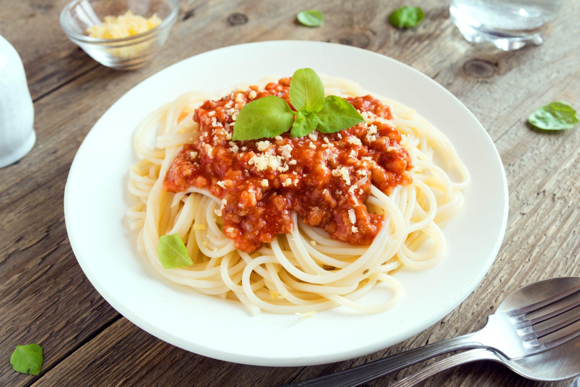 Spaghetti boloñesa fácil
