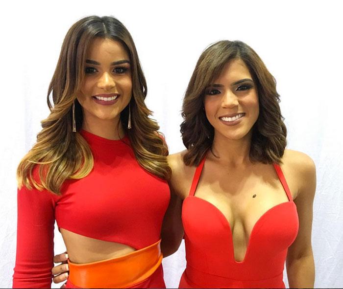 Clarissa Molina y Francisca Lachapel